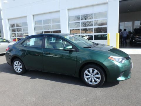 Certified Used Toyota Corolla LE