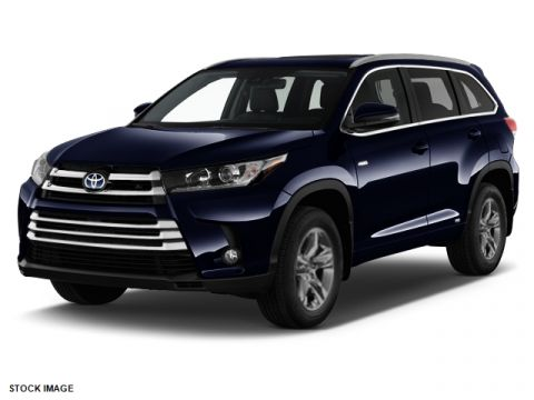 New Toyota Highlander Hybrid Limited Platinum