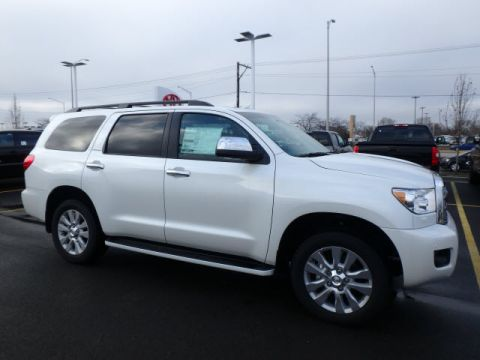 New 2016 Toyota Sequoia PLT 5DR 4WD WGN V8 4WD