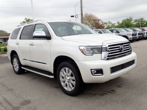 New Toyota Sequoia Platinum