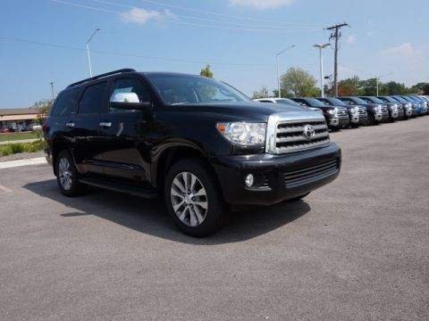 New 2017 Toyota Sequoia LTD 5DR 4WD WGN V8 4WD