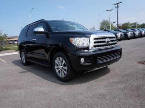 New Toyota Sequoia LTD 5DR 4WD WGN V8