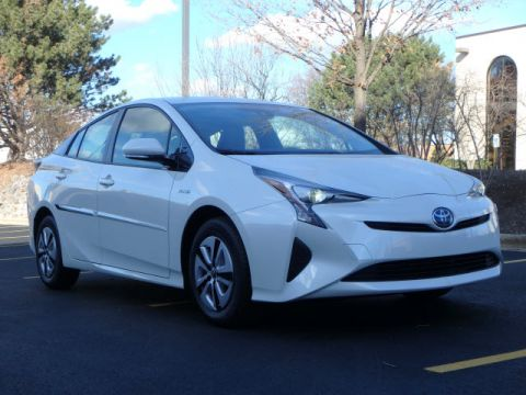 New 2017 Toyota Prius THREE 4DR SDN 4CY A With Navigation