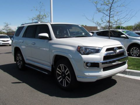 New Toyota 4Runner LTD 4DR 4WD SUV V6