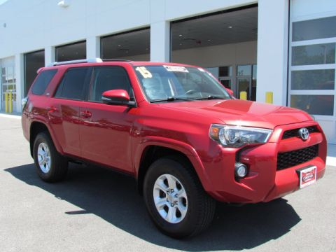 Certified Used Toyota 4Runner SP