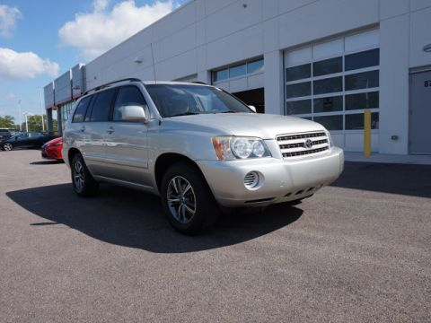 Used Toyota Highlander Base