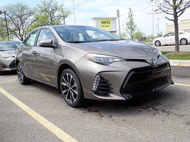 new 2018 toyota corolla xse xse 4dr sedan in schaumburg. Black Bedroom Furniture Sets. Home Design Ideas
