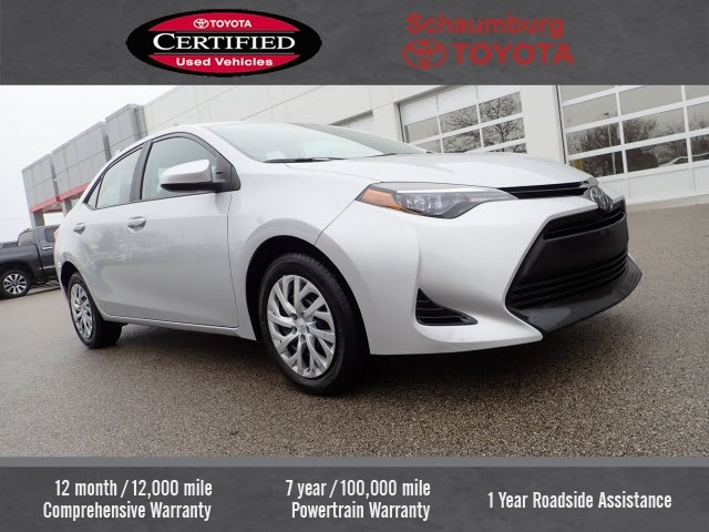 Pre Owned 2018 Toyota Corolla Le 4d Sedan In Schaumburg P5515