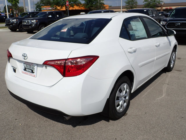 New 2019 Toyota Corolla L L 4dr Sedan In Schaumburg 190100