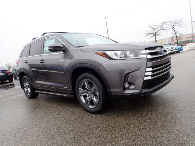 New 2019 Toyota Highlander Hybrid Limited Platinum Awd Limited
