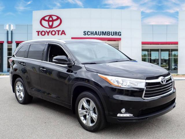 Toyota Highlander Limited >> Certified Pre Owned 2016 Toyota Highlander Limited Awd