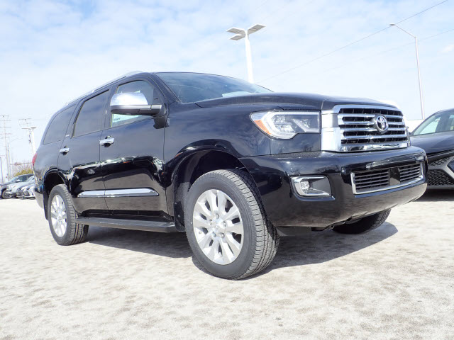New 2019 Toyota Sequoia Platinum 4x4 Platinum 4dr Suv In Schaumburg