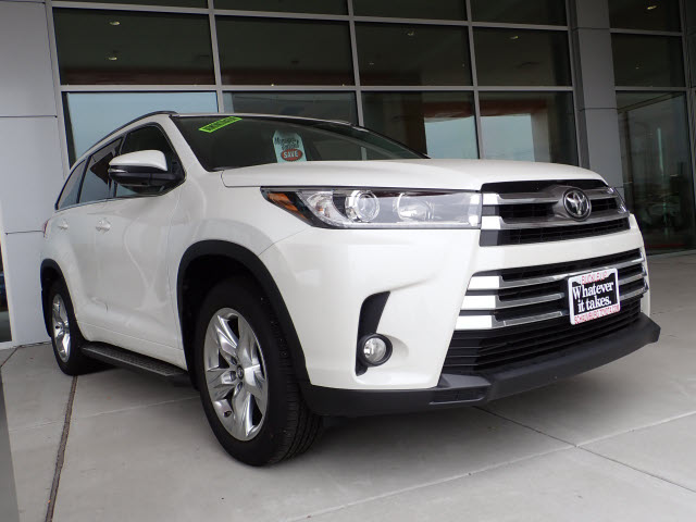New 2018 Toyota Highlander Limited Awd Limited 4dr Suv In