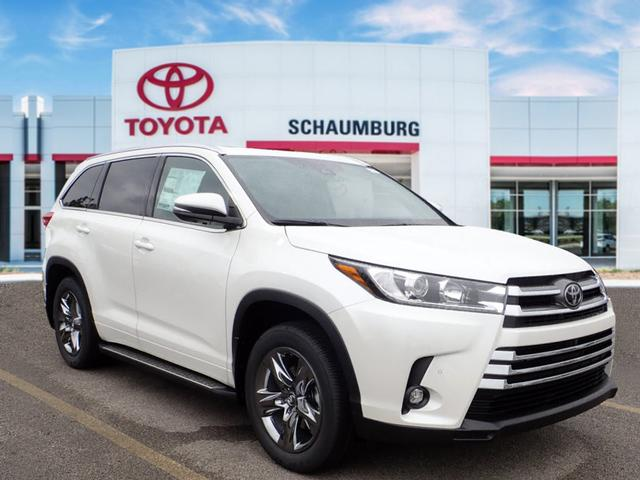New 2019 Toyota Highlander Limited Platinum Awd Limited Platinum 4dr