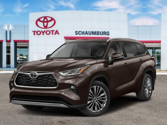 New 2020 Toyota Highlander Platinum