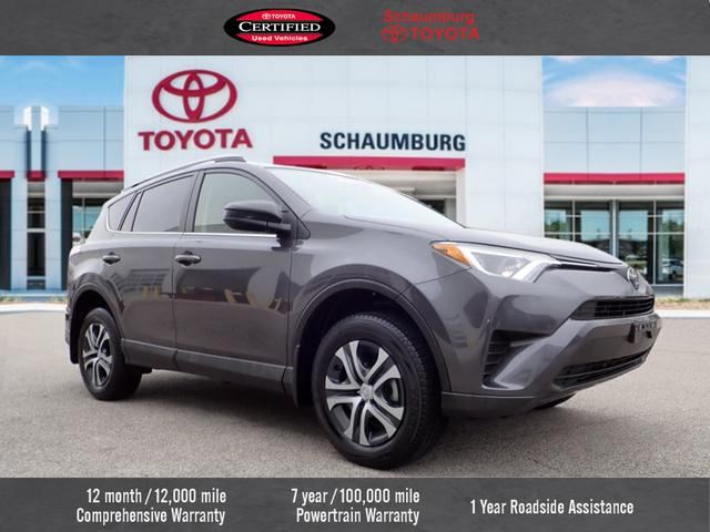 Certified Pre Owned 2017 Toyota Rav4 Le