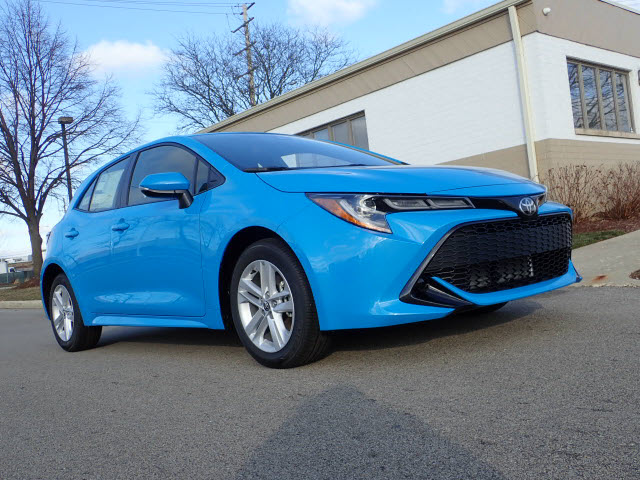 New 2019 Toyota Corolla Hatchback Se Se 4dr Hatchback Cvt In