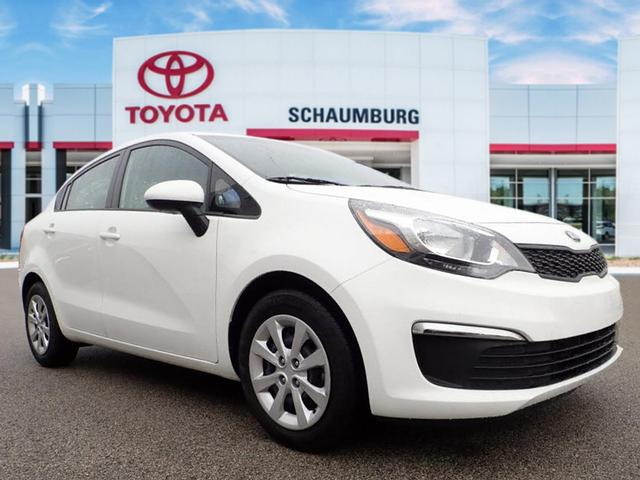 Kia Rio Lx >> Pre Owned 2017 Kia Rio Lx 4d Sedan In Schaumburg Q8135 Schaumburg