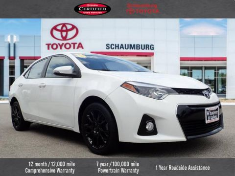 Certified Pre-Owned 2016 Toyota Corolla S Special Edition