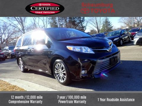 Certified Pre-Owned 2018 Toyota Sienna XLE Premium