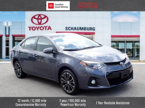 Certified Pre-Owned 2015 Toyota Corolla S