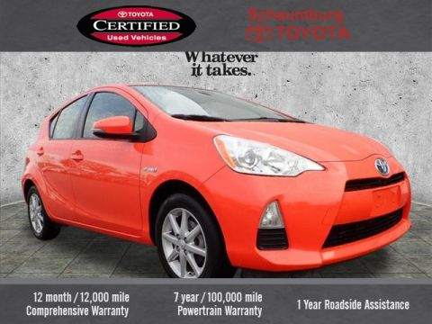 Certified Pre-Owned 2014 Toyota Prius C Three